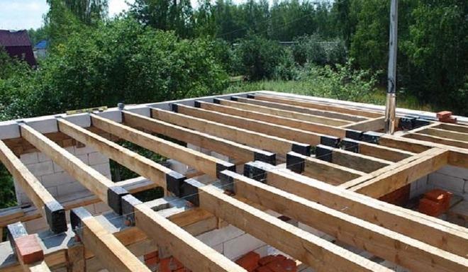 Как сделать деревянные перекрытия