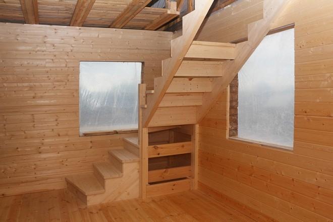 Как сделать второй этаж на деревянном доме