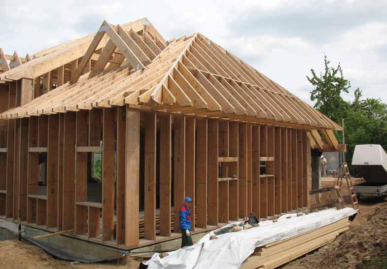 Одноэтажный каркасный дом своими рукамиотчет