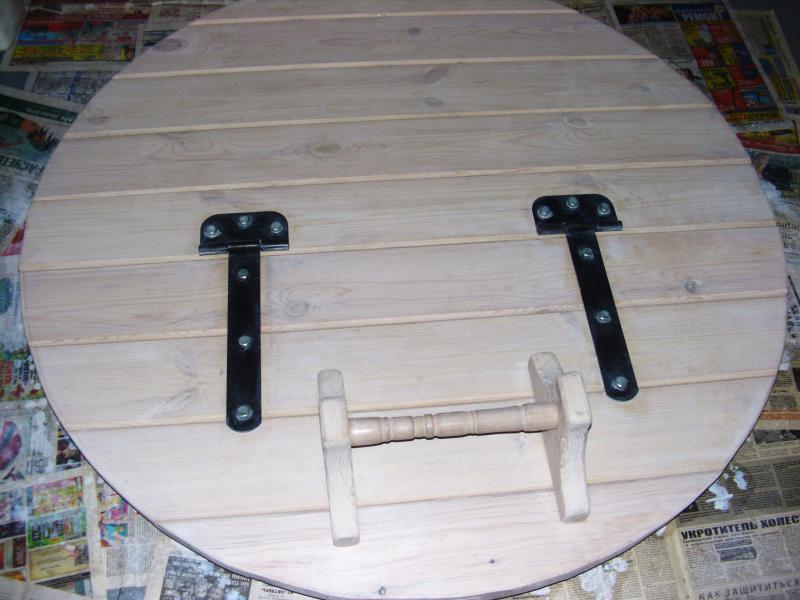 Как сделать крышку на колодец своими руками