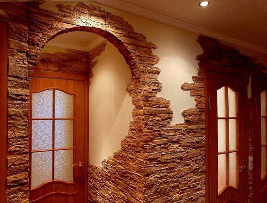 Декор стены варианты