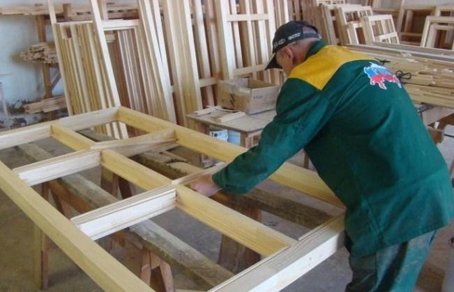 Изготовление оконных рам из дерева