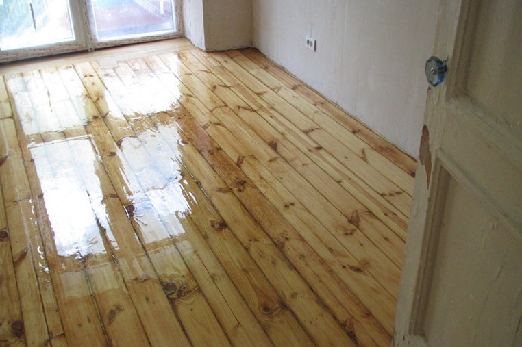 Как отремонтировать старый деревянный пол своими руками 99