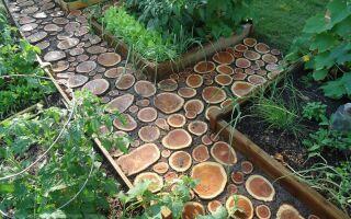 Как сделать деревянную дорожку собственноручно