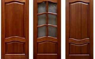 Деревянные двери на заказ: характеристики и изготовление
