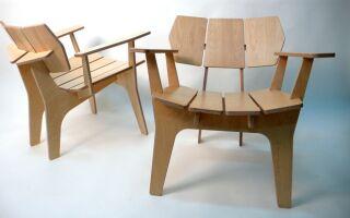Пошаговое руководство в изготовлении стульев из фанеры