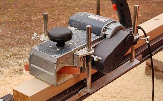 Как соорудить самодельный рейсмусовый станок, для обработки дерева