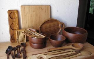 Простой способ изготовления деревянной посуды самому