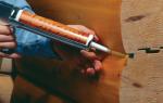Применение герметика для деревянных полов