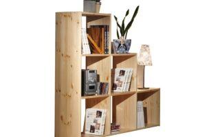 Какие бывают деревянные стеллажи для дома?