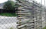 Конструкции деревянных заборов