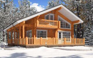 Зимнее брусовые дома под ключ