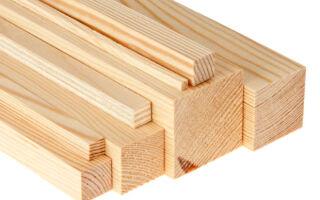 Сортамент деревянного бруса