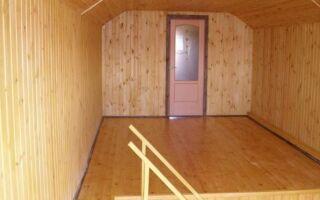Отделка вагонкой деревянного дома