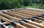 Расчет параметров деревянного перекрытия