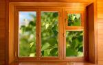 Домашние окна из дерева своими руками