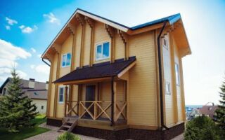 Для чего используют двойной брус в строительстве домов