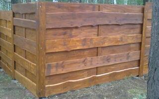 Деревянный сплошной забор: подарите себе нечто оригинальное