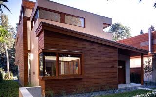 Деревянный вентилируемый фасад своими руками