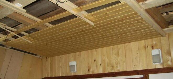 Использование потолочной доски