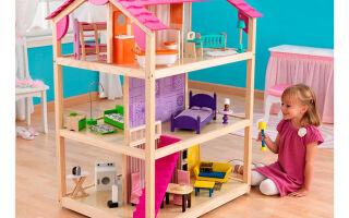 Изготовление деревянных кукольных домиков