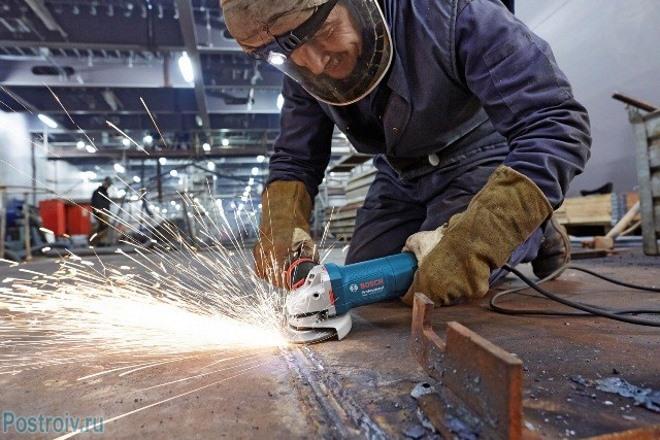 Меры защиты при работе с болгаркой