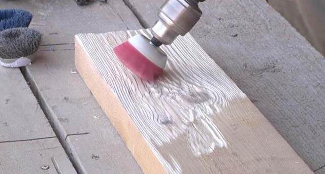 Инструмент для браширования дерева