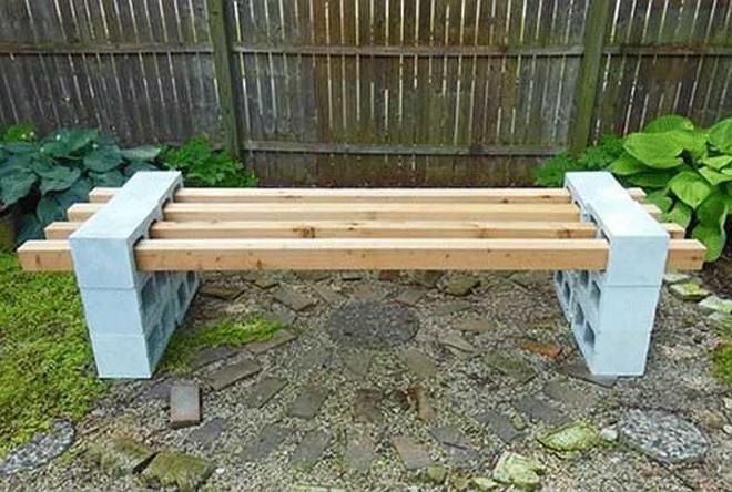 Садовая скамейка для дачи своими руками: три проекта... -…