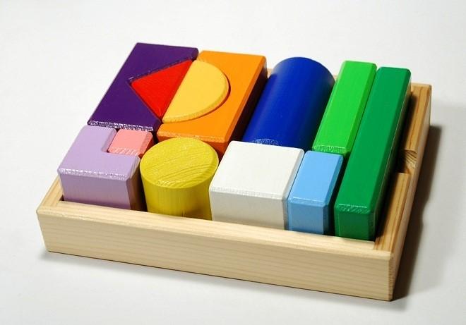 Конструктор из обычных кубиков