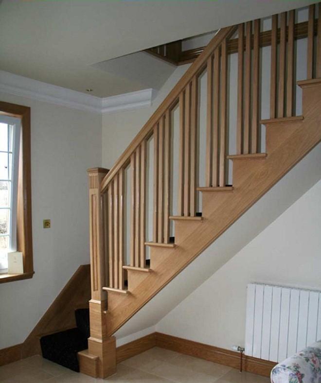 Маршевая конструкция лестницы