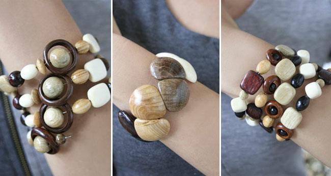 как сделать браслет из дерева