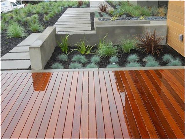 деревянный помост