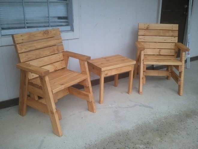 Самостоятельная сборка стула