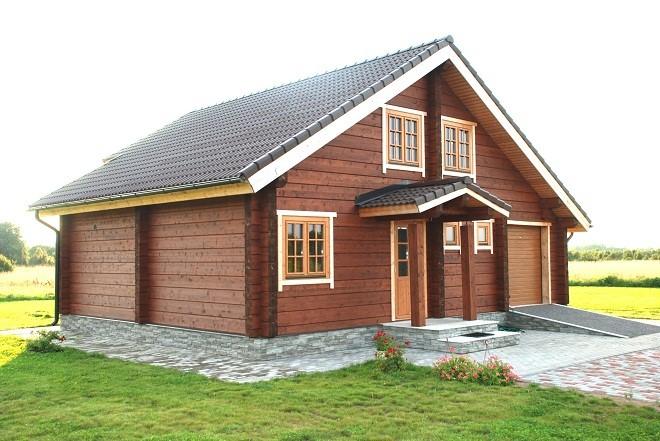 Обшивка деревянного дома