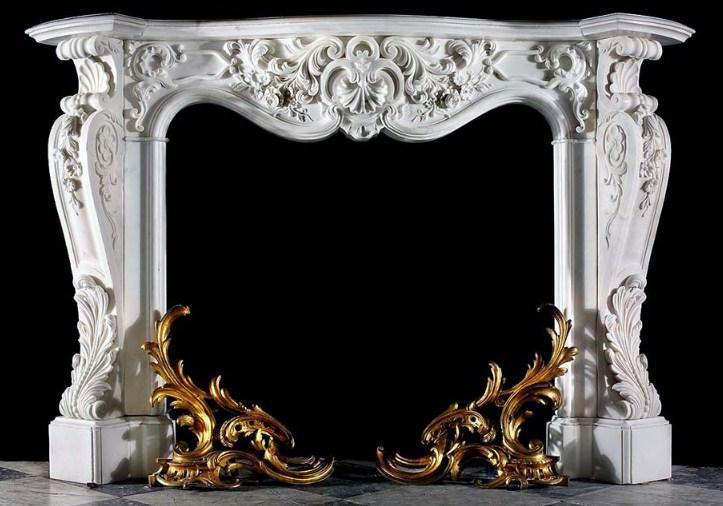 каминный портал из лепнины