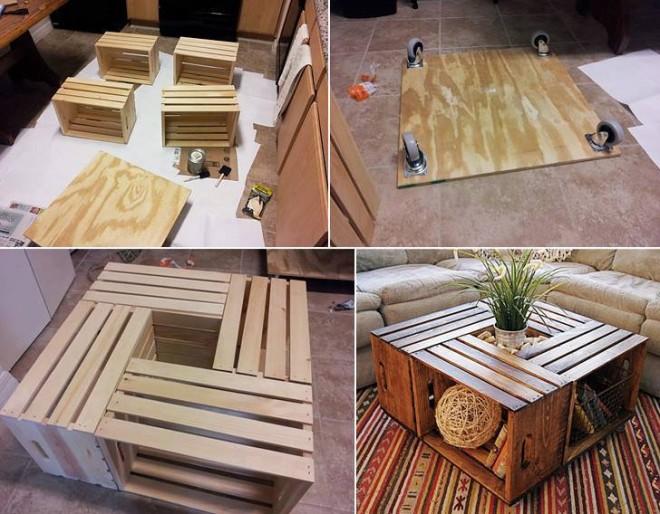 деревянные столы фото