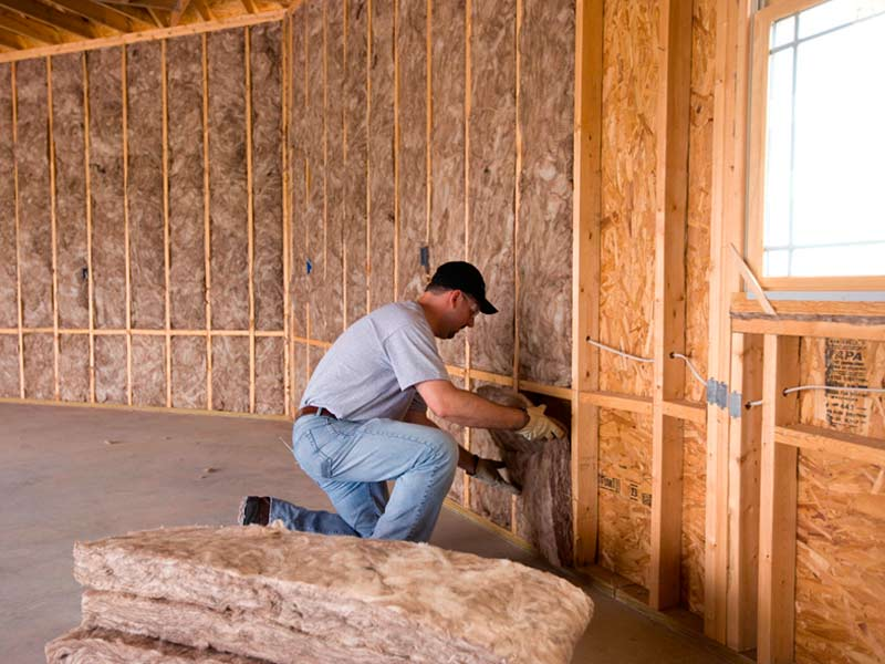 утепление частного деревянного дома