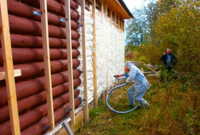 Утепление брусового дома снаружи минватой своими руками 177