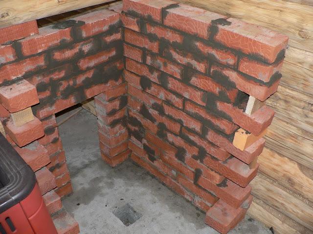 облицовка деревянного дома кирпичем