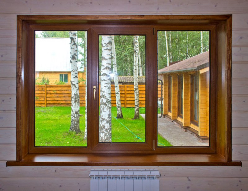 откосы в деревянном доме