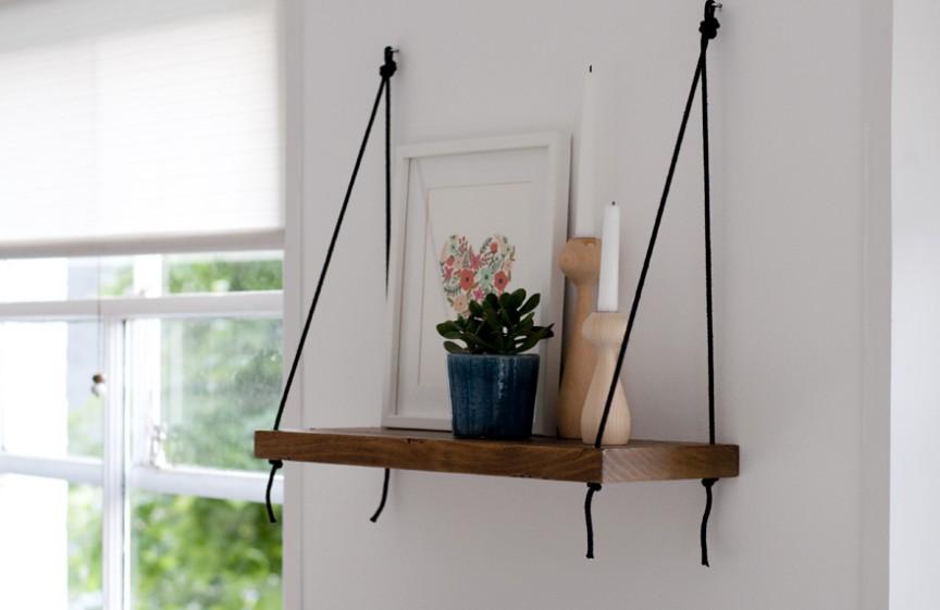 декоративные деревянные полки