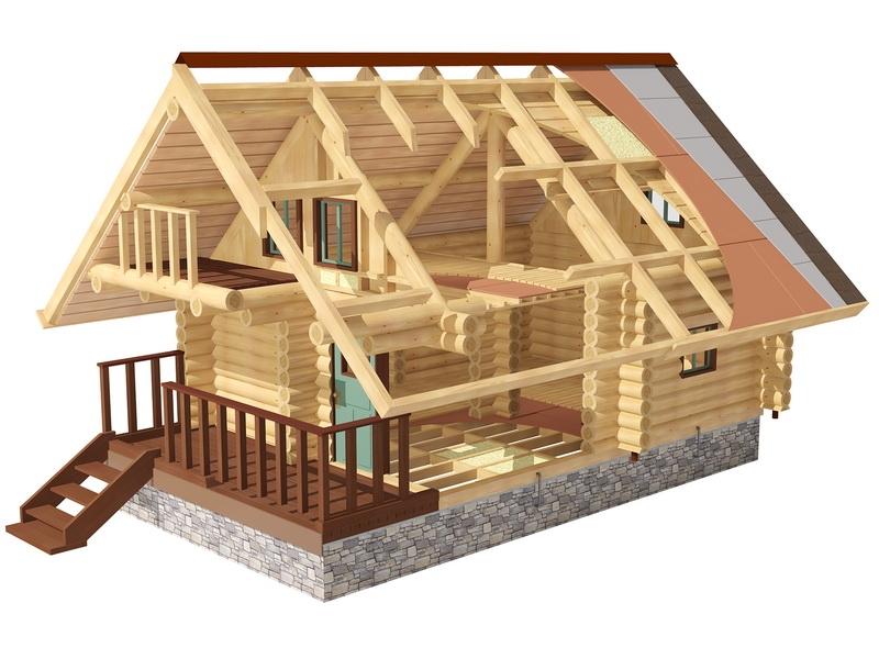 Постройка домов и их отделка подробное описание