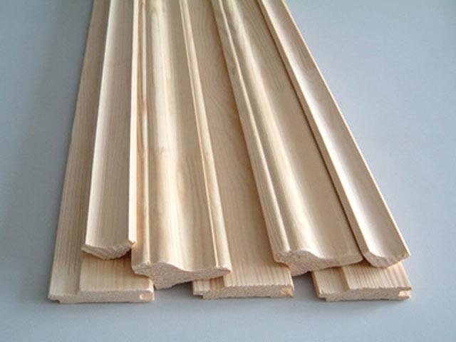 размеры деревянного плинтуса