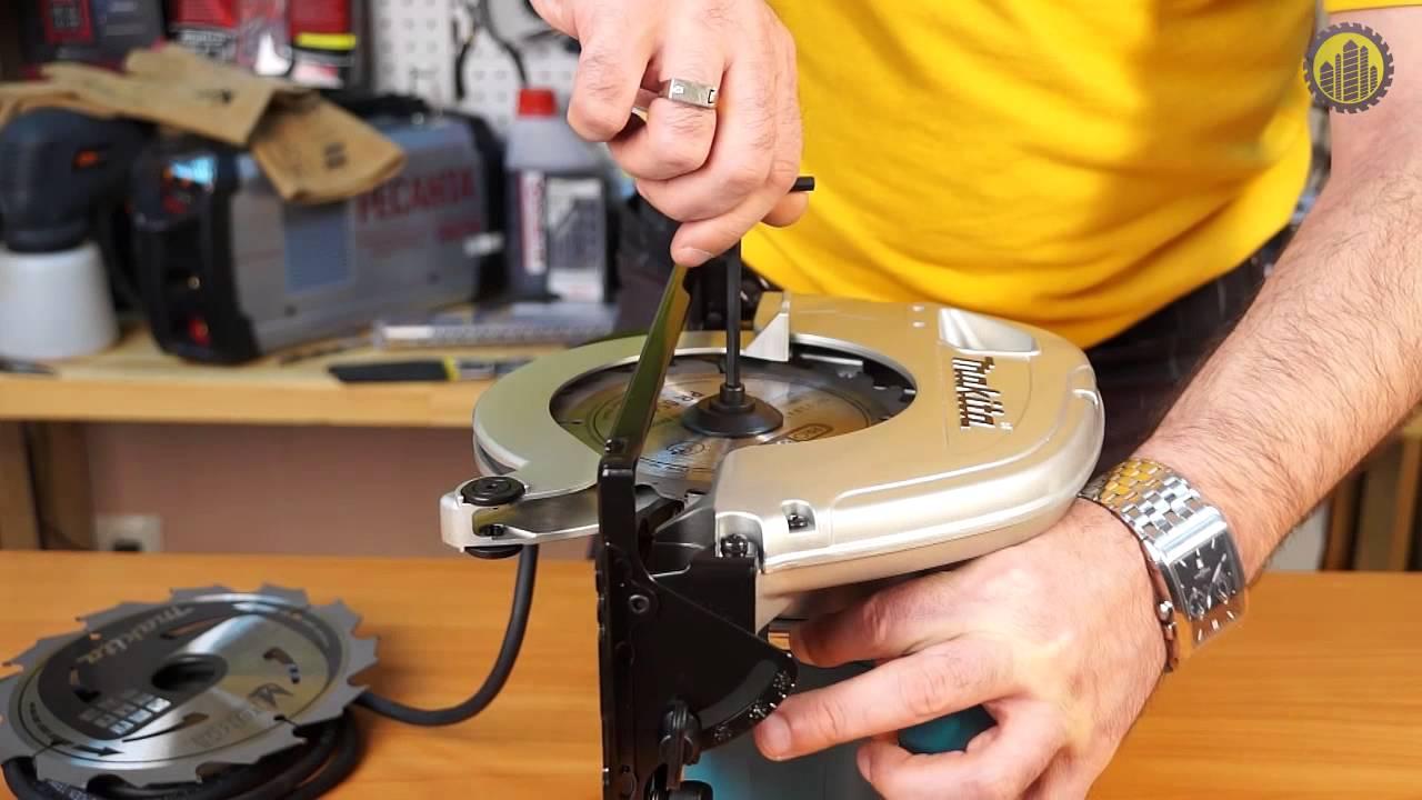 ремонт дисковой пилы своими руками