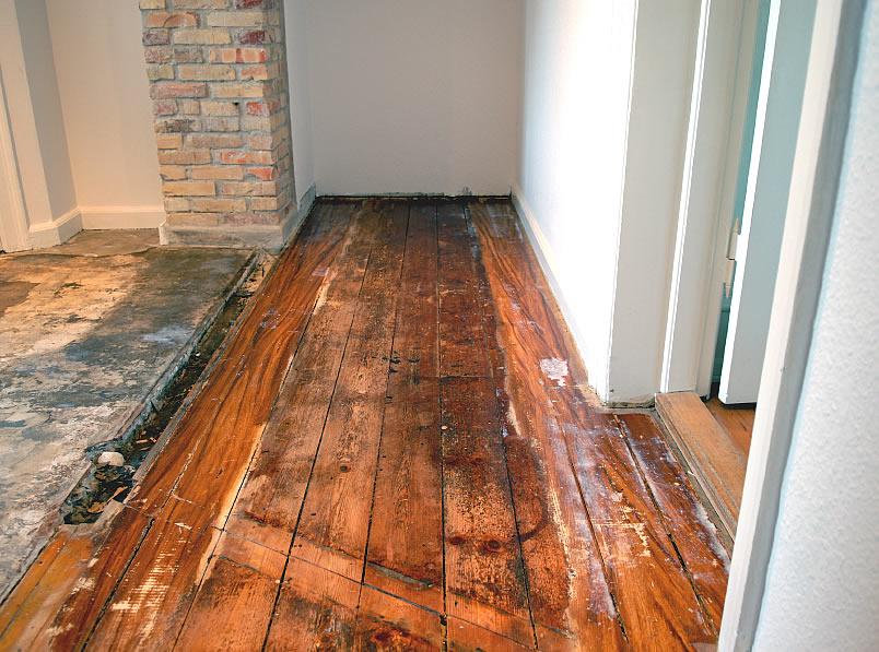 способы ремонта деревянного пола