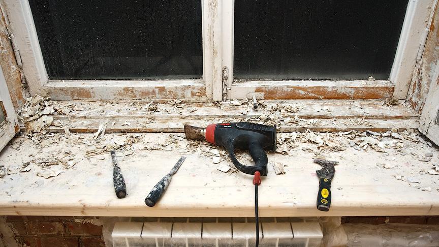 реставрация деревянных рам