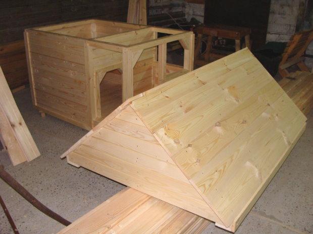 крыша для собачьей будки