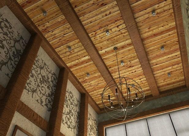 черновой потолок материалы