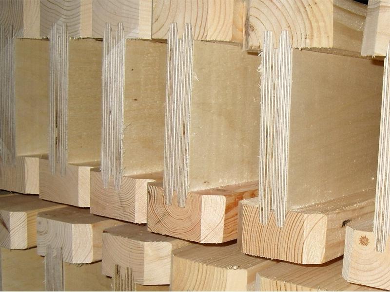 деревянные балки в доме