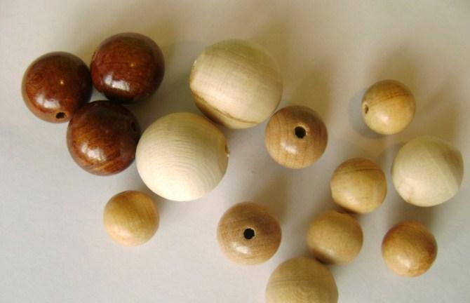 деревянные бусы своими руками